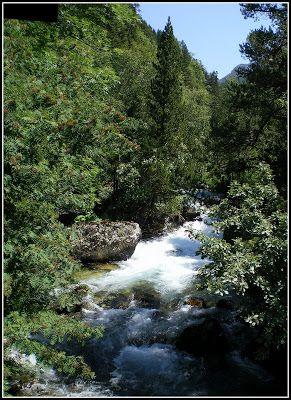 Panorama 3 - Agua, mucha agua en el valle de Benasque