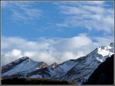 P1040563 redimensionar redimensionar redimensionar redimensionar - Otoño, nieve y color, Valle de Benasque en vivo.