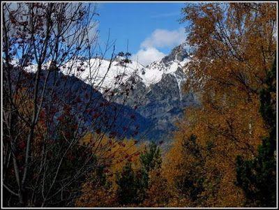 P1040590 redimensionar redimensionar redimensionar redimensionar - Otoño, nieve y color, Valle de Benasque en vivo.
