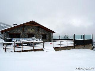 P1160287 - La estación de Cerler, excursión hasta La Pizzería por Robellons.