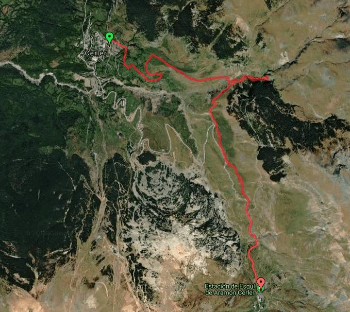 Captura de pantalla 2018 12 28 a las 16.07.34 - Paseo desde Cerler a Ampriu por las 3 Cascadas.