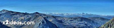 Coronas 2 1 fhdr - Glaciar e Ibones de Coronas.