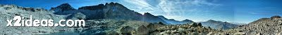 Coronas 3 1 fhdr - Glaciar e Ibones de Coronas.