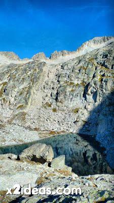 P1300595 fhdr - Glaciar e Ibones de Coronas.