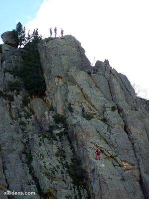 P1310653 - Simulacro de rescate de montaña.