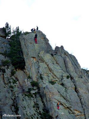 P1310665 - Simulacro de rescate de montaña.