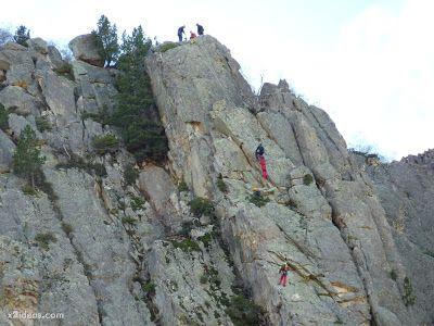 P1310666 - Simulacro de rescate de montaña.