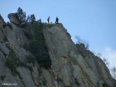 P1310678 - Simulacro de rescate de montaña.