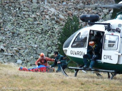 P1310707 - Simulacro de rescate de montaña.