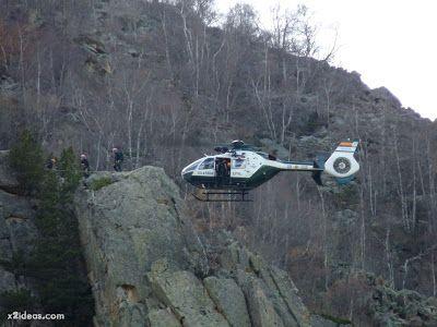 P1310714 - Simulacro de rescate de montaña.