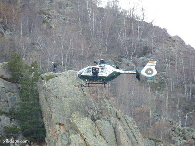 P1310716 - Simulacro de rescate de montaña.