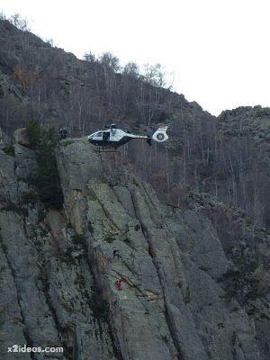 P1310719 - Simulacro de rescate de montaña.
