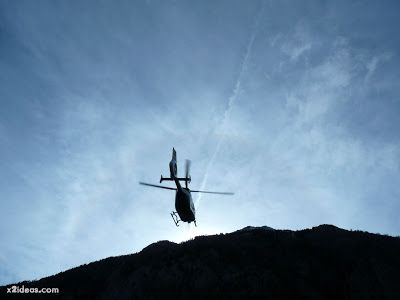 P1310736 - Simulacro de rescate de montaña.