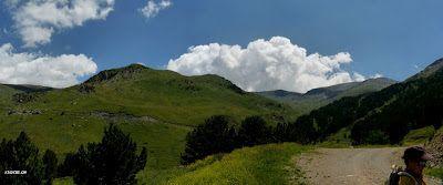 Panorama 4 001 - Ruta de las 3 Cascadas y Ardonés.