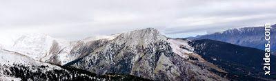 Panorama 2 001 - Ardonés, 3.11.12, la montaña de Cerler.