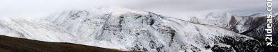 Panorama 3 001 - Ardonés, 3.11.12, la montaña de Cerler.