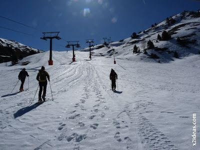 P1440619 - Cerler, noviembre, primera nevada.