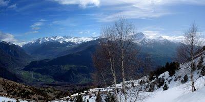 Panorama 2 2 - Sierra de Chía, de foqueo ... Valle de Benasque.
