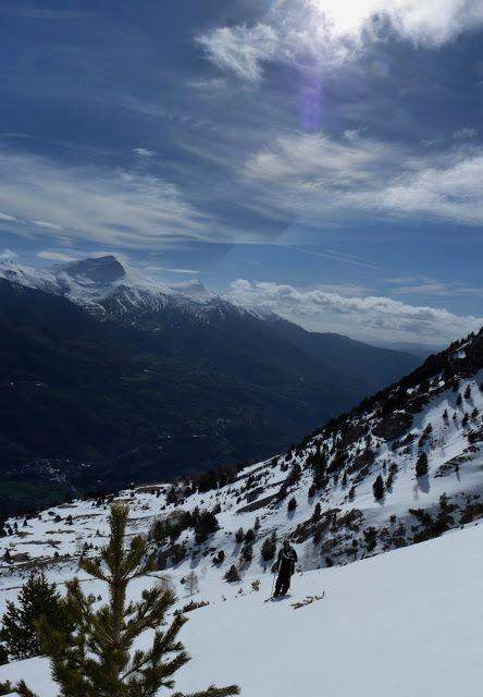 Panorama 3 3 - Sierra de Chía, de foqueo ... Valle de Benasque.
