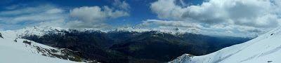 Panorama 4 2 - Sierra de Chía, de foqueo ... Valle de Benasque.
