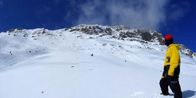 Panorama 5 1 - Sierra de Chía, de foqueo ... Valle de Benasque.