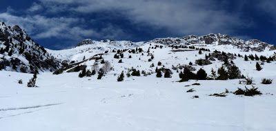 Panorama 7 1 - Sierra de Chía, de foqueo ... Valle de Benasque.
