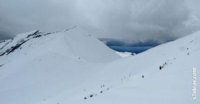 P1450306 - Gallinero después de nevar anoche.