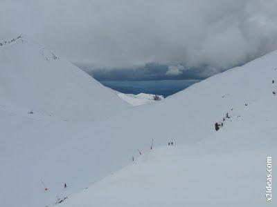 P1450313 - Gallinero después de nevar anoche.