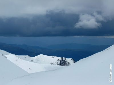 P1450314 - Gallinero después de nevar anoche.
