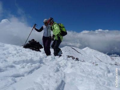 P1460025 - Ascensión al Pico Castanesa (2858 m) y su bajada ...