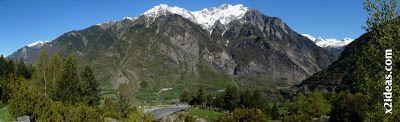 Panorama 1 1 - De Cerler a Benasque hasta Anciles.
