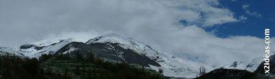 Panorama 1 - Pico Estibafreda 2702 m. en Cerler, Valle de Benasque (Pirineos)