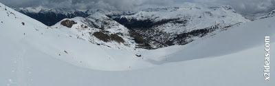 Panorama 2 2 - Gallinero después de nevar anoche.