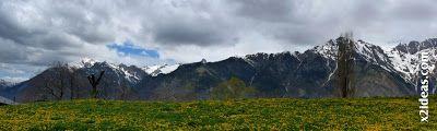 Panorama 3 001 - El pico Castanesa se me resiste.