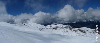 Panorama 4 1 - Ascensión al Pico Castanesa (2858 m) y su bajada ...