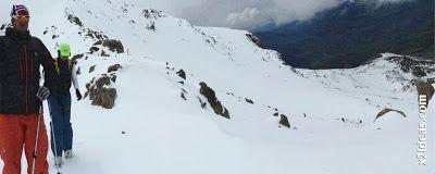 Panorama 4 2 - Gallinero después de nevar anoche.