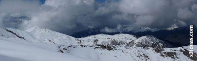 Panorama 5 - Ascensión al Pico Castanesa (2858 m) y su bajada ...