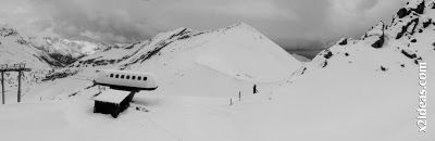 Panorama 6 2 - Gallinero después de nevar anoche.