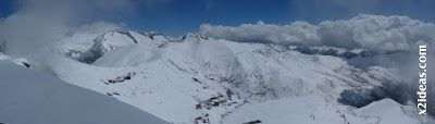 Panorama 6 - Ascensión al Pico Castanesa (2858 m) y su bajada ...