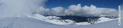 Panorama 7 - Ascensión al Pico Castanesa (2858 m) y su bajada ...