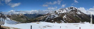 Panorama 2 1 - Pico Basibé, sin palabras en Cerler ... en junio.