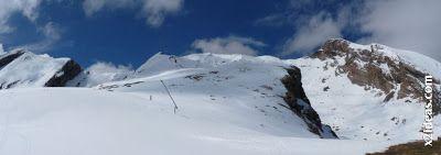 Panorama 3 2 - Pico Basibé, sin palabras en Cerler ... en junio.