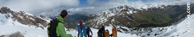 Panorama 5 - Pico Basibé, sin palabras en Cerler ... en junio.