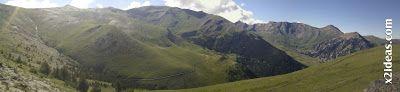 Panorama 1 - Des Pacs en agosto 2013, Valle de Benasque.
