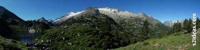 Panorama 2 - Ibones de Villamuerta-Aigualluts-La Renclusa.