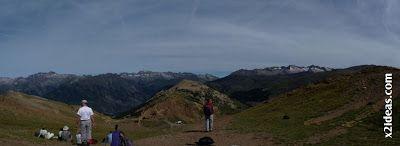 Panorama 1 - Pico Gallinero 2728 m.