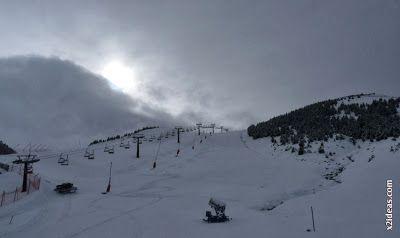 P1500439 - Cerler 2013-2014, la primera esquiada.