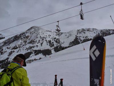 P1500457 - Cerler 2013-2014, la primera esquiada.