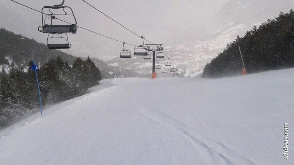 20140326 094312 1024x576 - Y volvió a nevar en Cerler, después del veranito de marzo.