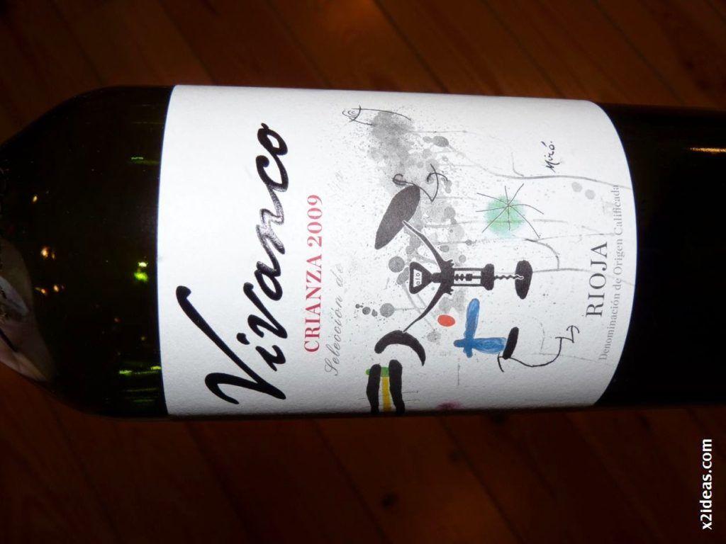 P1530023 1024x768 - Restaurante La Solana y Bodegas Vivanco excelente pareja.